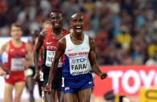 Mo Farah completes historic 'triple double' with 5,000m win