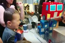 This kid's Transformers birthday cake actually transforms, and it's ridiculously cool
