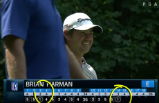 PGA golfer incredibly makes two holes-in-one in the same round at The Barclays