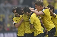 In-form Shinji Kagawa shines as Dortmund's superb start to the season continues