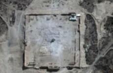 UN satellite images prove Palmyra temple was blown up