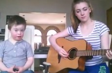 This Irish girl's duet with her little brother is going viral