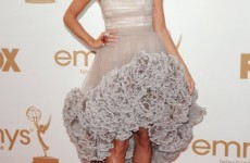 Colour-coded: Fishtail frocks at the Emmys
