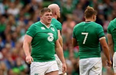 Schmidt confirms 31-man Ireland squad with Cave and Furlong in