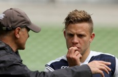 Ian Madigan has been practicing for scrum-half duties on his own all summer