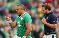 'I don't think I've ever refreshed my email so much!' – Ireland's Simon Zebo