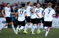 Shamrock Rovers old boys Finn and Gannon on target as Dundalk edge closer to title