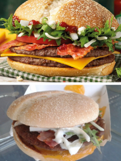 The new Irish McDonald's burger looks a little different in real life – here's our verdict