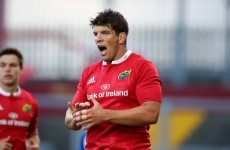 O'Callaghan close to Worcester deal after early Munster release