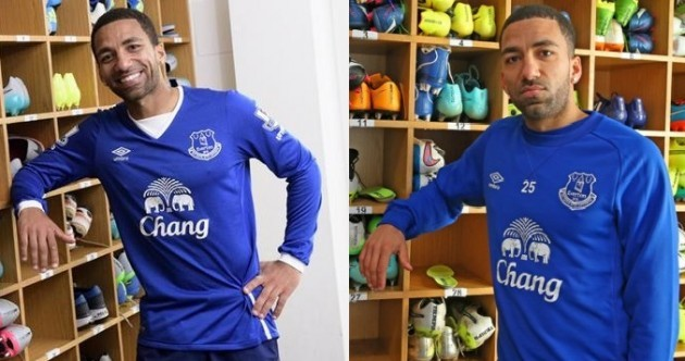 Aaron Lennon turns that frown upside down on his return to Everton