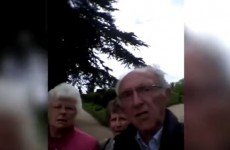 These older people tried to take a photo on an iPhone… but accidentally hit record