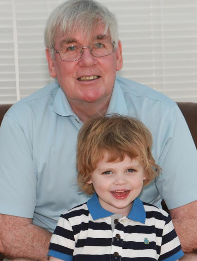 This 73 year old is 'jumping out of a plane' for his 'magnificent grandson'