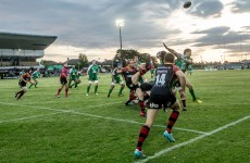 Connacht up and running as late Carr try slays visiting Dragons