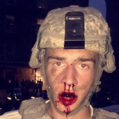 A broken leg and 24 concussions. Pillow fights among US recruits are hardcore