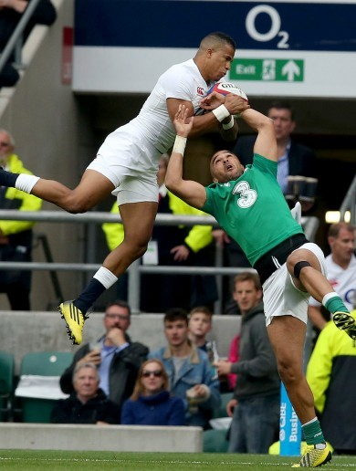 Ireland's defence has been very, very suspect against England so far