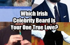 Which Irish Celebrity Beard Is Your One True Love?