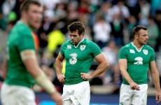 Ireland suffer Twickenham defeat after dire first half against England