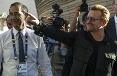 Bono: 'These people are refugees, not migrants'