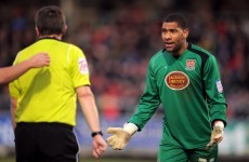 Bermuda international goalkeeper features in our League of Ireland team of the week