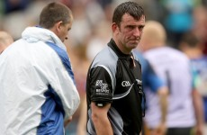 All-Ireland final referee battled through intense personal grief at Croke Park