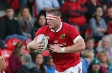 Chisholm in the frame for Munster debut, but Foley excited by academy lock Madigan