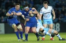 Leinster expect Marty Moore back playing four weeks after foot surgery