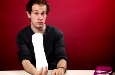 VIDEO: Irish men get to grips with tampons, sanitary pads and pantyliners