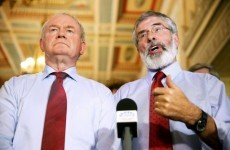 Gerry Adams: Stormont walkout is a 'contrived crisis'
