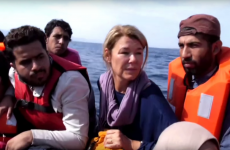 This Sky News report on a refugee crossing to Greece is causing a bit of a stir