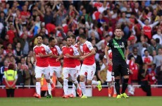 Jon Walters nowhere to be seen as Stoke given a footballing lesson by Arsenal