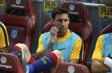 Messi benched by Barca – but saves them with late winner against Atletico