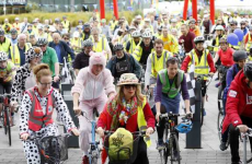If you're driving around Dublin today, watch out for cyclists – thousands of cyclists