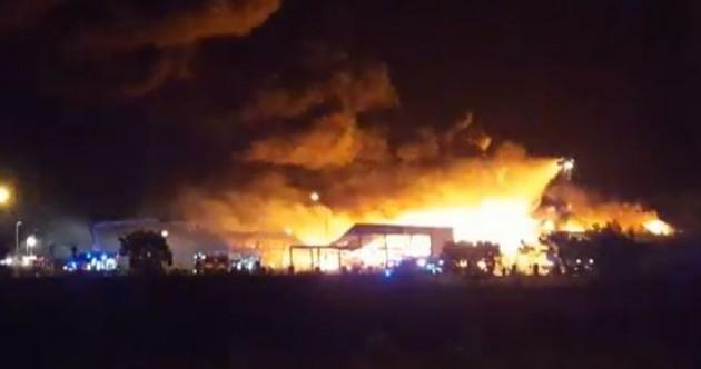 Drogheda fire: Fourth teenager arrested over blaze that destroyed factory