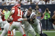 JJ Watt doesn't need a helmet and the best of the rest from week one of the NFL