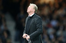 Steve McClaren's night couldn't have gone any worse as Newcastle hit rock bottom