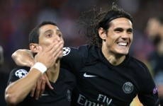 Angel di Maria scored his first goal for PSG with this lovely effort tonight