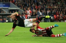 Luke Shaw vows to 'come back stronger' after suspected broken leg