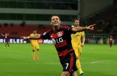 Chicharito back firing in the Champions League, Müller with an accidental cracker