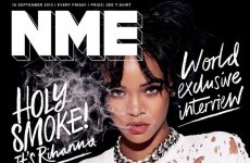 Here's why Rihanna's NME cover is causing a stir online
