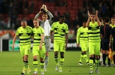 10-man Celtic earn encouraging point in Amsterdam but left to rue letting lead slip