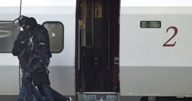 Terror scare: Armed police arrest man who locked himself in train toilet