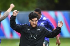 Milner-Skudder wins 3rd cap as All Blacks aim to get Pool C wrapped up nice and early
