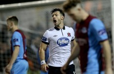 Demolition derby as Towell nets 4 in Dundalk's rout of Drogheda
