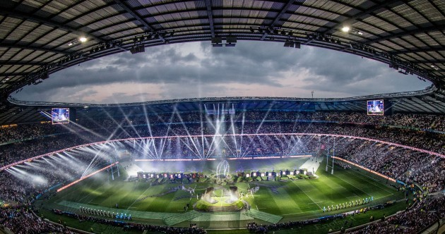 Rapper and royalty open Rugby World Cup as 'The Bull' Hayes makes guest appearance