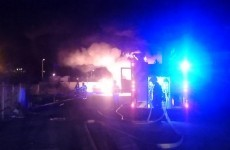 Firefighters battle massive fire at Dublin industrial estate for over two hours