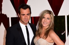 Justin Theroux has denied that him and Jennifer Aniston are having problems… it's the Dredge
