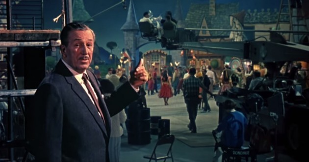 Walt Disney acted out Snow White and all its characters on stage to inspire his team to make the movie