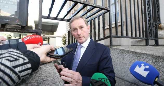 Micheál Martin says a gun was put to Martin Callinan's head