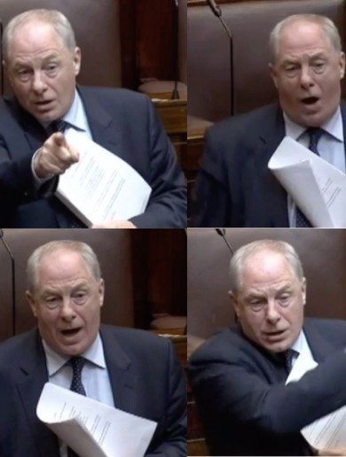 You could hear this TD's ringing endorsement of Enda all over Leinster House