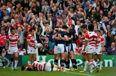 'We just ran out of energy': Second half proves too much for Japan against slick Scotland
